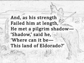 Eldorado Poem Analysis and Meaning - Shadow of Iris