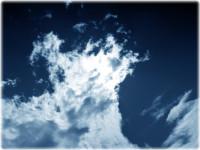 Alone by Edgar Allan Poe: blue sky